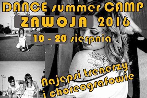 DANCE SUMMER CAMP ZAWOJA 2016